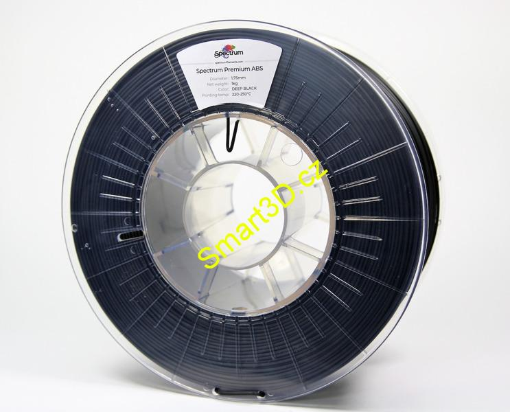 Filament SPECTRUM / ABS SMART / Deep Black / 1,75 mm / 1 kg