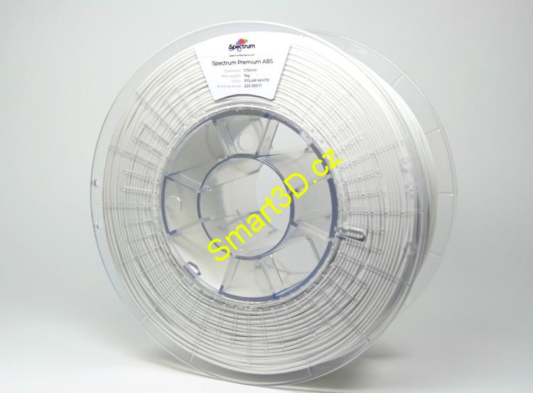 Filament SPECTRUM / ABS SMART / Polar White / 1,75 mm / 1 kg