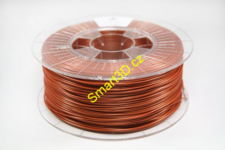 "Filament SPECTRUM / PLA / MĚDĚNÁ ""RUST"" / 2,85 mm / 0,85 kg"