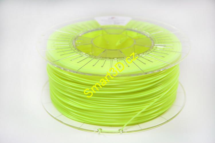 Filament SPECTRUM / PLA / FLUORESCENČNÍ ŽLUTÁ / 2,85 mm / 0,85 kg