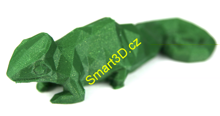 Filament SPECTRUM / PLA / EMERALD GREEN / 1,75 mm / 0,5 kg