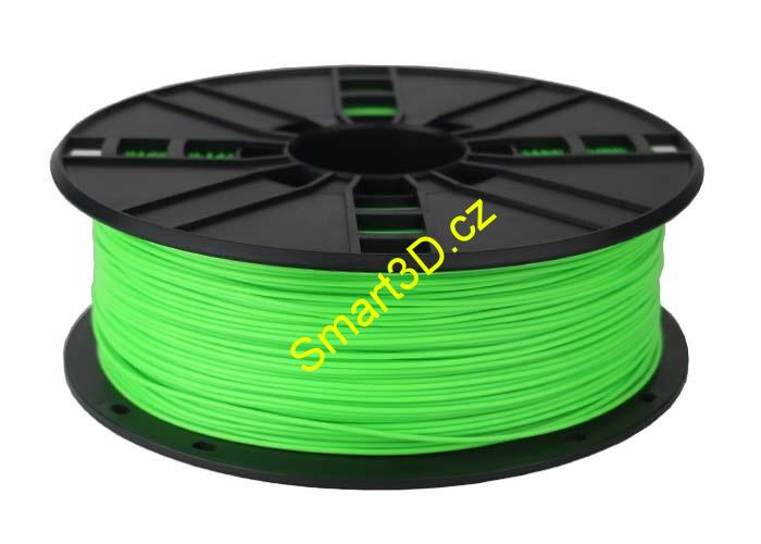 Filament Gembird / PLA / Fluorescent Green / 1,75 mm / 1 kg.