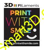 Filament PRINT WITH SMILE / PLA / METALICKÁ ZELENÁ / 1,75 mm / 1 kg.