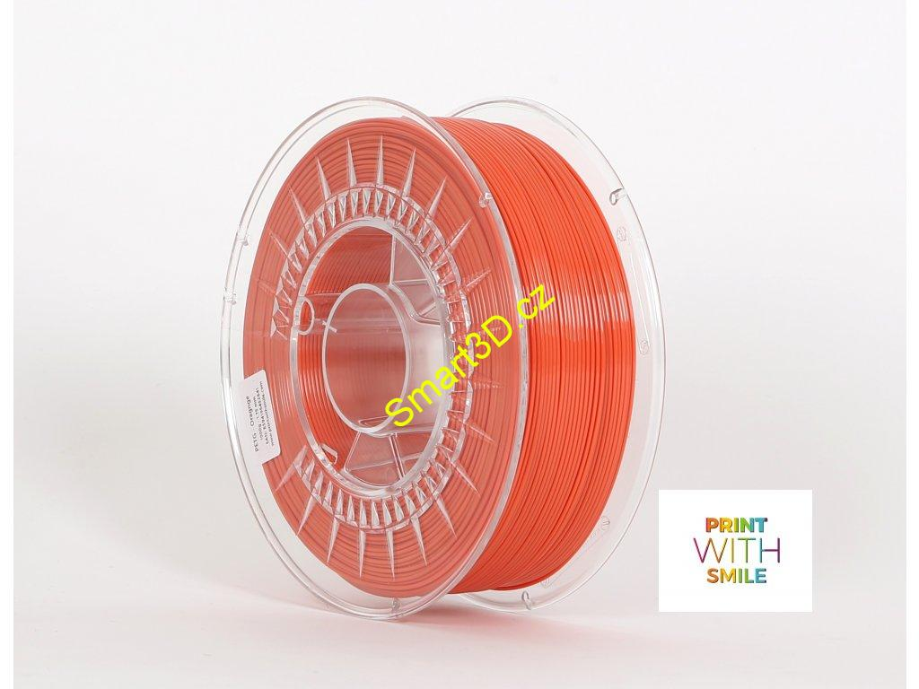 Filament PRINT WITH SMILE / PETG / ORANŽOVÁ / 1,75 mm / 1 kg.