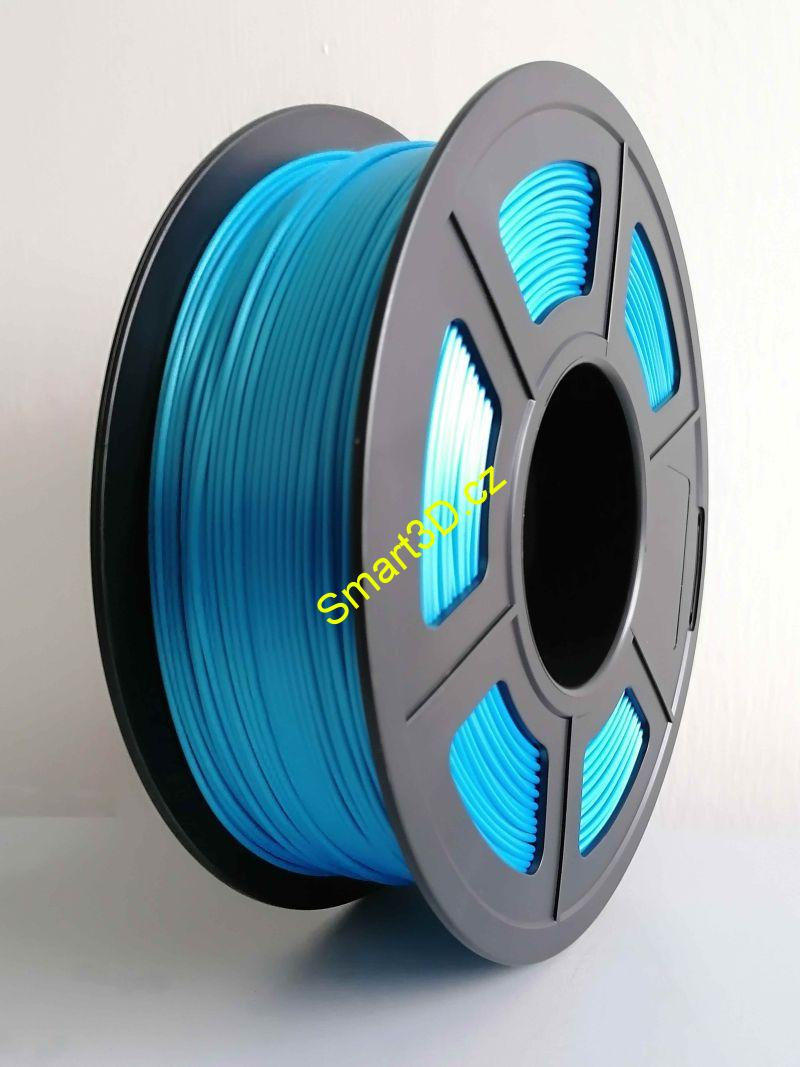 Filament FIBER3D / PLA SILK / MODRÁ / 1,75 mm / 1 kg.