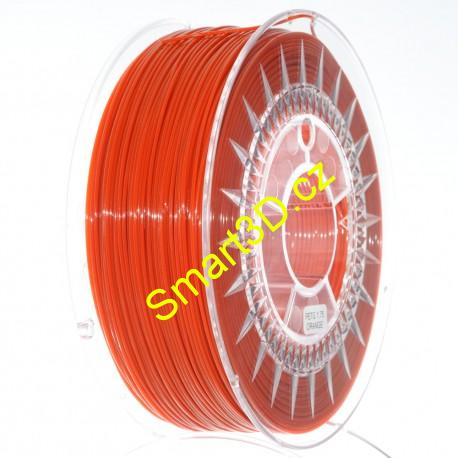 Filament DEVIL DESIGN / PETG / DARK ORANGE / 1,75 mm / 1 kg.