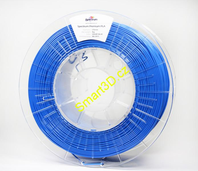 Filament SPECTRUM / PLA / PACIFIC ( SMURF ) BLUE / 1,75 mm / 1 kg