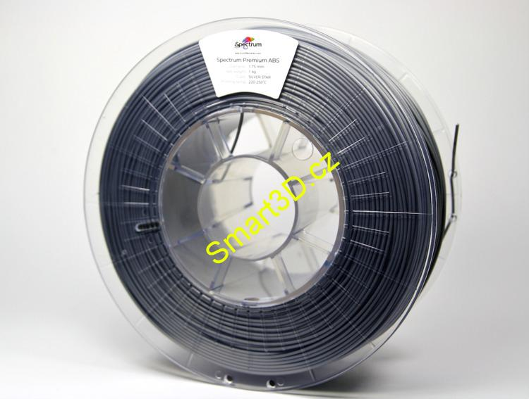 Filament SPECTRUM / ABS / Silver Star / 1,75 mm / 1 kg