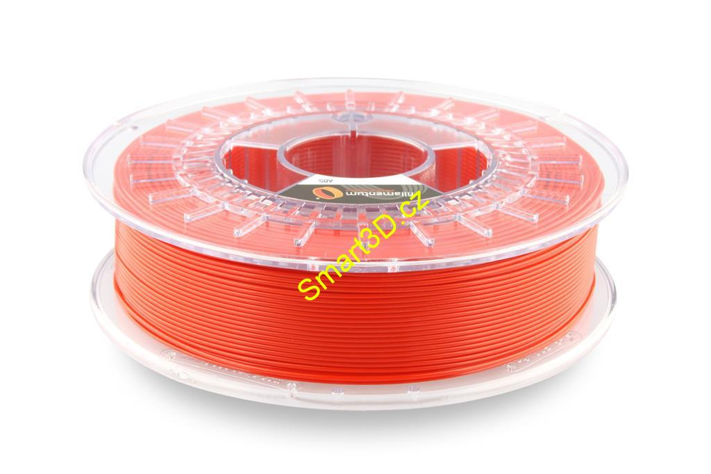 Filament FILLAMENTUM / ABS / TRAFFIC RED RAL 3020 / 1,75 mm / 0,75 kg.