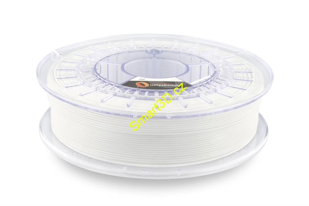 Filament FILLAMENTUM / ABS / TRAFFIC WHITE RAL 9016 / 1,75 mm / 0,75 kg.