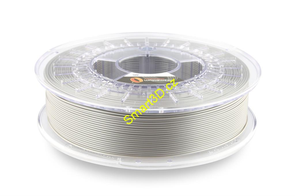 Filament FILLAMENTUM / ABS / METALLIC GREY / 1,75 mm / 0,75 kg.