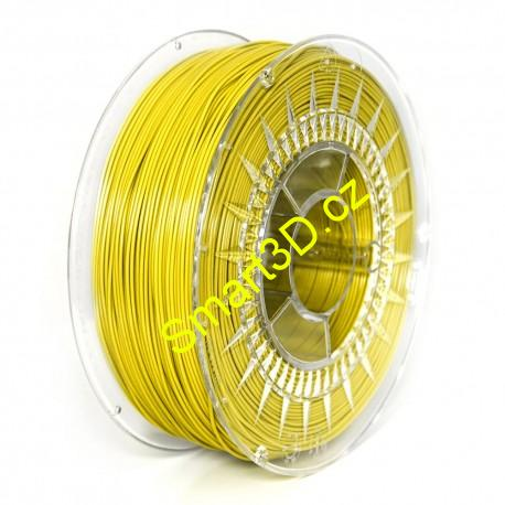 Filament DEVIL DESIGN / PLA / YELLOW / 1,75 mm / 1 kg.