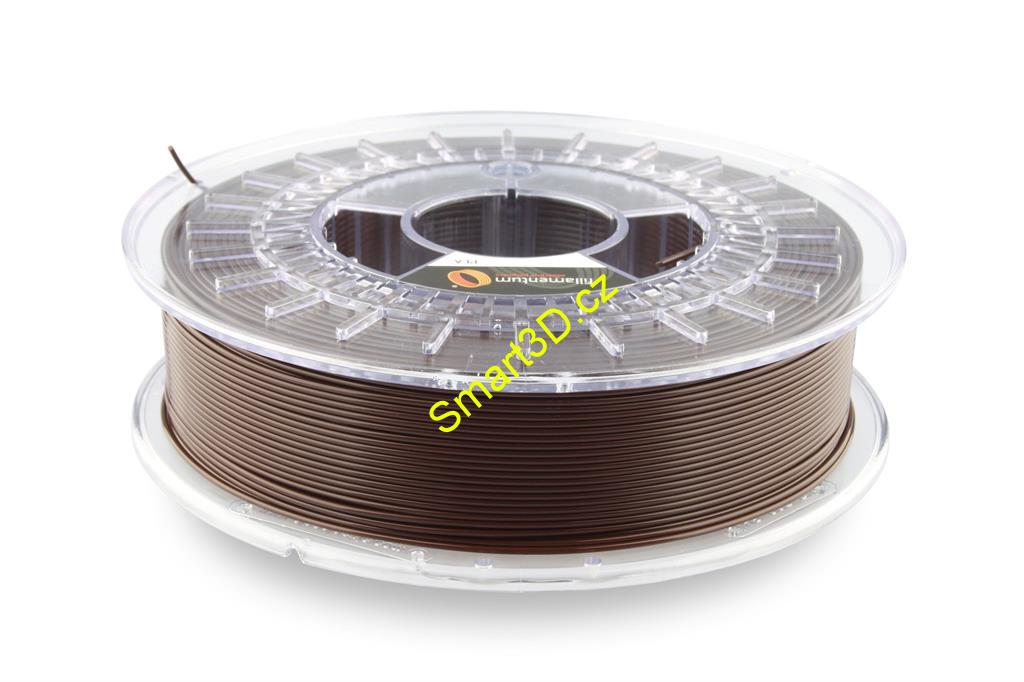 Filament FILLAMENTUM / PLA / CHOCOLATE BROWN RAL 8017 / 1,75 mm / 0,75 kg.