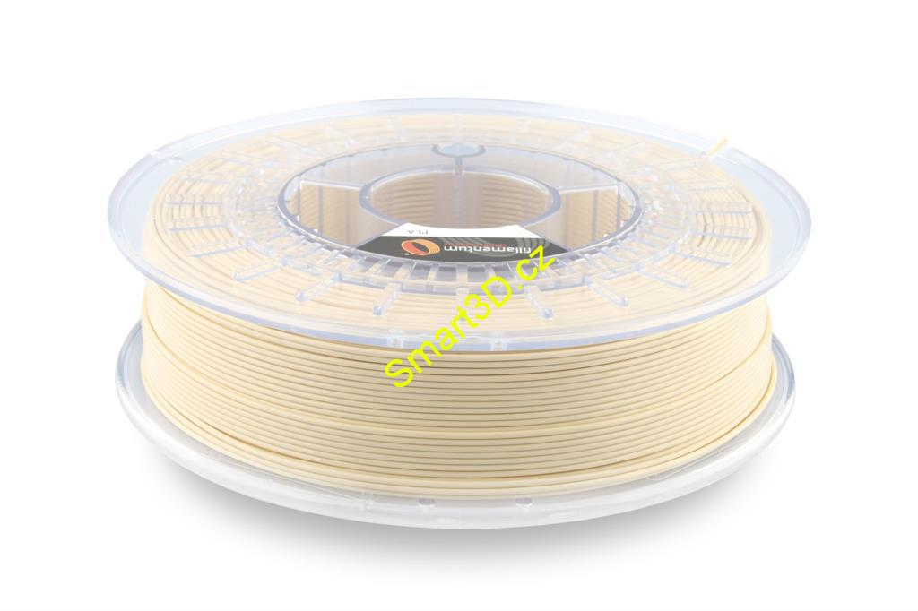 Filament FILLAMENTUM / PLA / LIGHT IVORY RAL 1015 / 1,75 mm / 0,75 kg.
