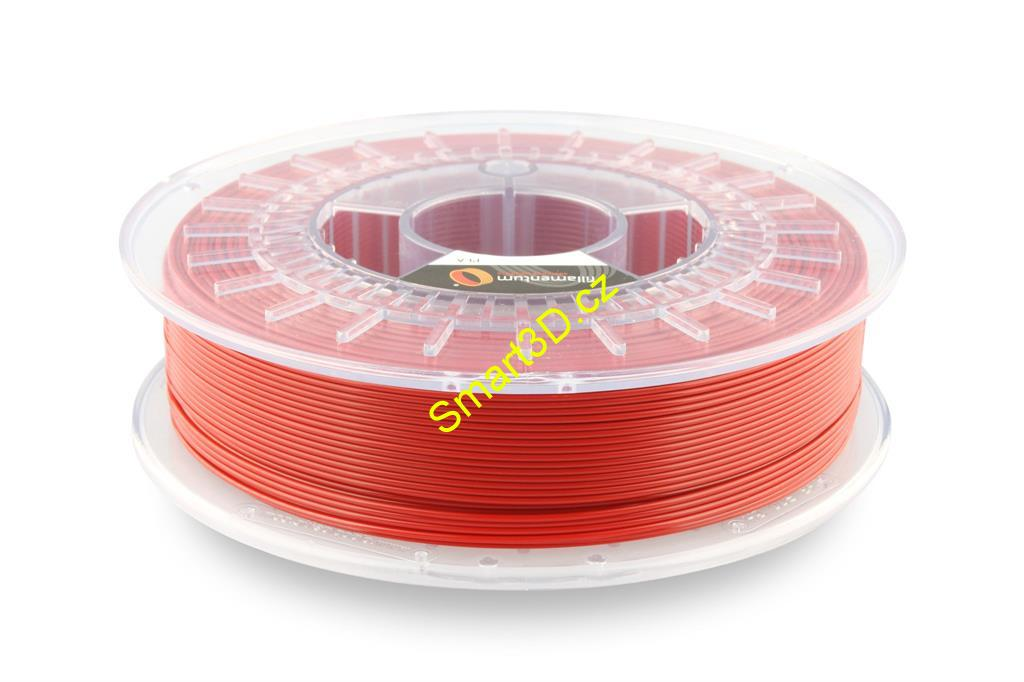 Filament FILLAMENTUM / PLA / SIGNAL RED RAL 3001 / 1,75 mm / 0,75 kg.