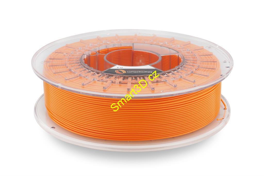 Filament FILLAMENTUM / PLA / ORANGE RAL 2008 / 1,75 mm / 0,75 kg.