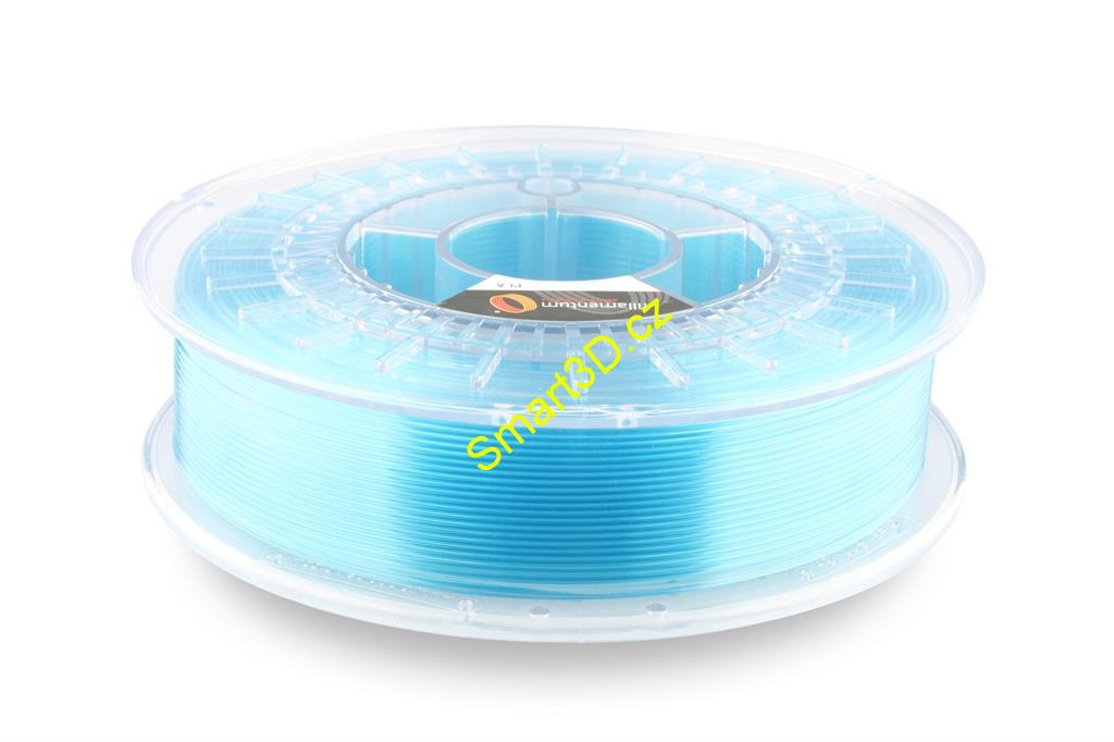 Filament FILLAMENTUM / PLA / CRYSTAL CLEAR ICELAND BLUE / 1,75 mm / 0,75 kg.