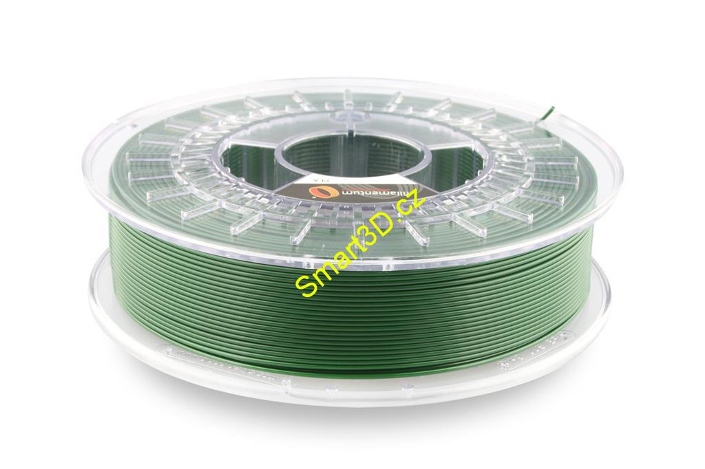 Filament FILLAMENTUM / PLA / PEARL GREEN RAL 6035 / 1,75 mm / 0,75 kg.