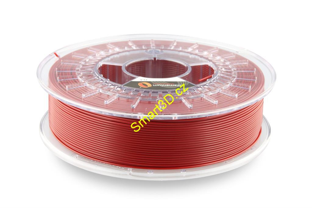 Filament FILLAMENTUM / PLA / PEARL RUBY RED RAL 3032 / 1,75 mm / 0,75 kg.