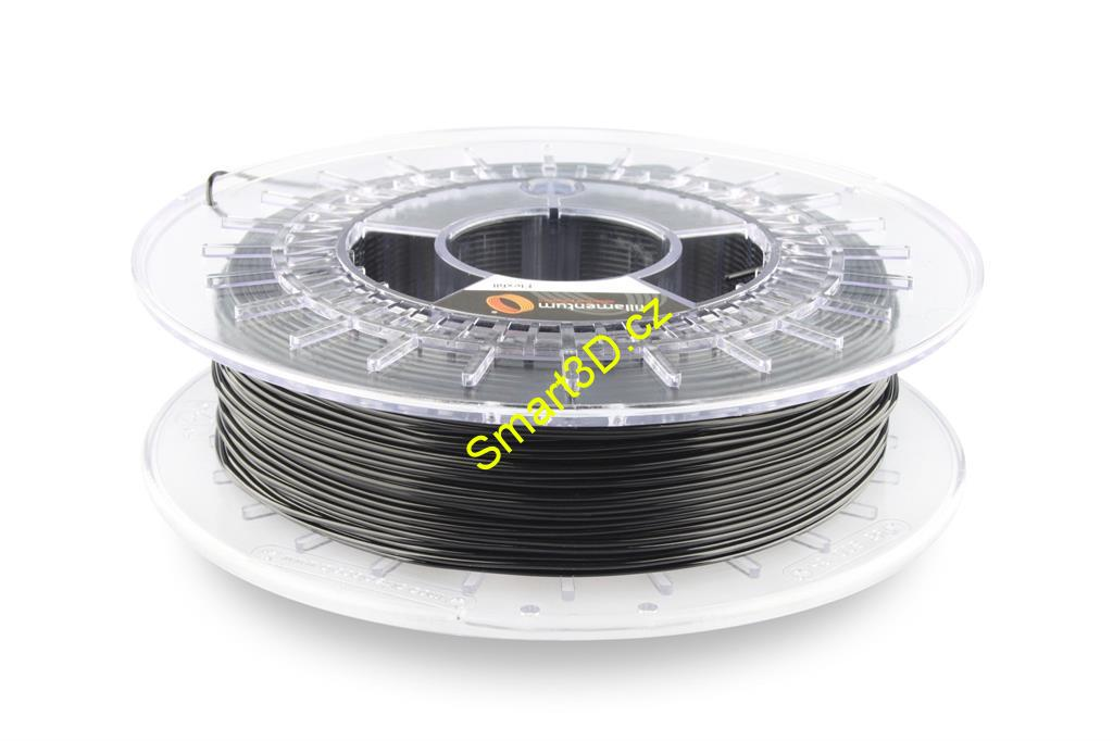 Filament FILLAMENTUM / FLEXFILL 98A / TRAFFIC BLACK RAL 9017 / 1,75 mm / 0,5 kg.
