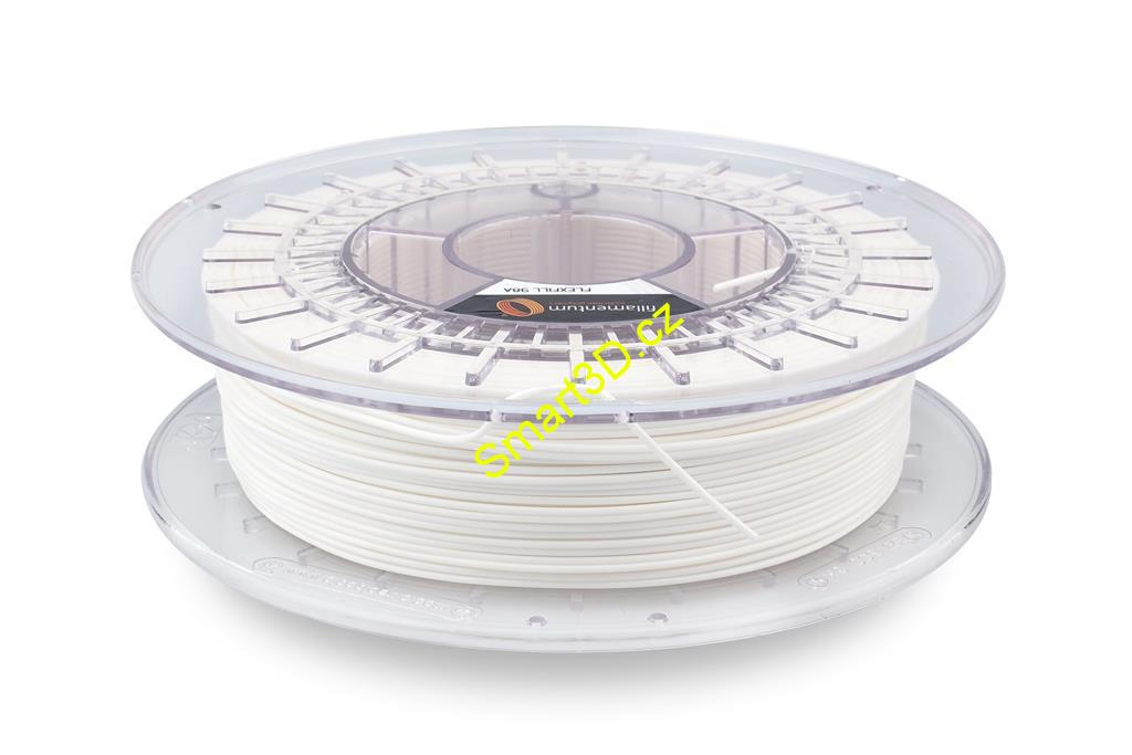 Filament FILLAMENTUM / FLEXFILL 98A / TRAFFIC WHITE RAL 9016 / 1,75 mm / 0,5 kg.