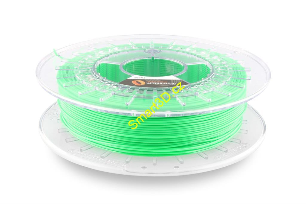 Filament FILLAMENTUM / FLEXFILL 92A / LUMINOUS GREEN RAL 603 / 1,75 mm / 0,5 kg.