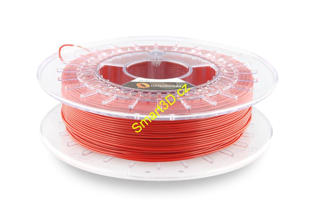 Filament FILLAMENTUM / FLEXFILL 92A / SIGNAL RED RAL 3001 / 1,75 mm / 0,5 kg.