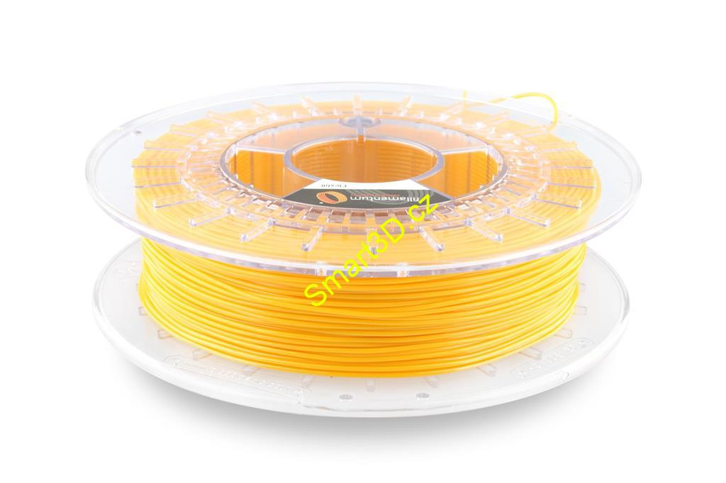 Filament FILLAMENTUM / FLEXFILL 92A / SIGNAL YELLOW RAL 1003 / 1,75 mm / 0,75 kg.