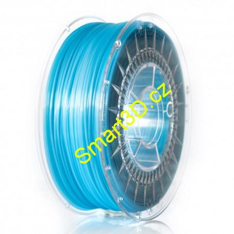 Filament DEVIL DESIGN / PLA / BLUE SEMI TRANSPARENT / 1,75 mm / 1 kg.