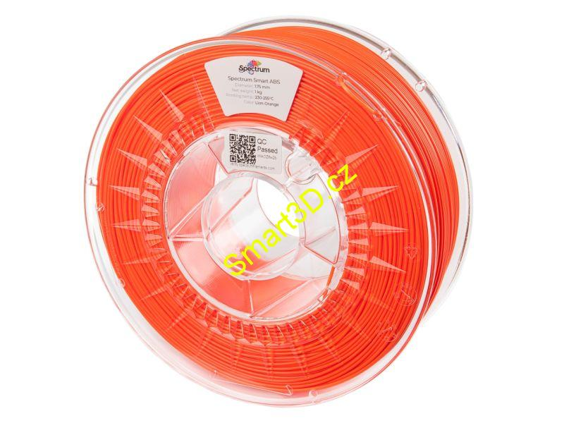 "Filament SPECTRUM / ABS SMART / ORANŽOVÁ ""Lion"" / 1,75 mm / 1 kg"