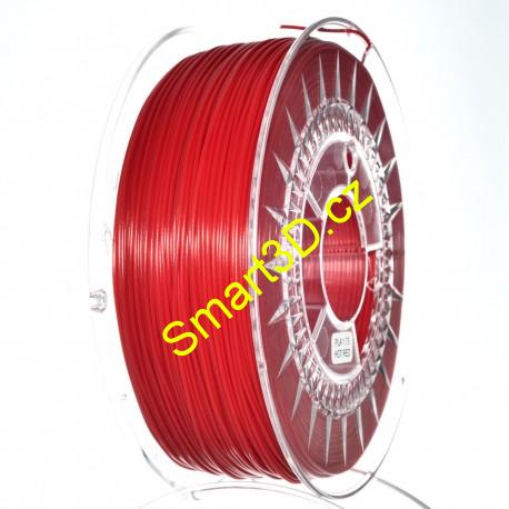 Filament DEVIL DESIGN / PLA / HOT RED / 1,75 mm / 1 kg.