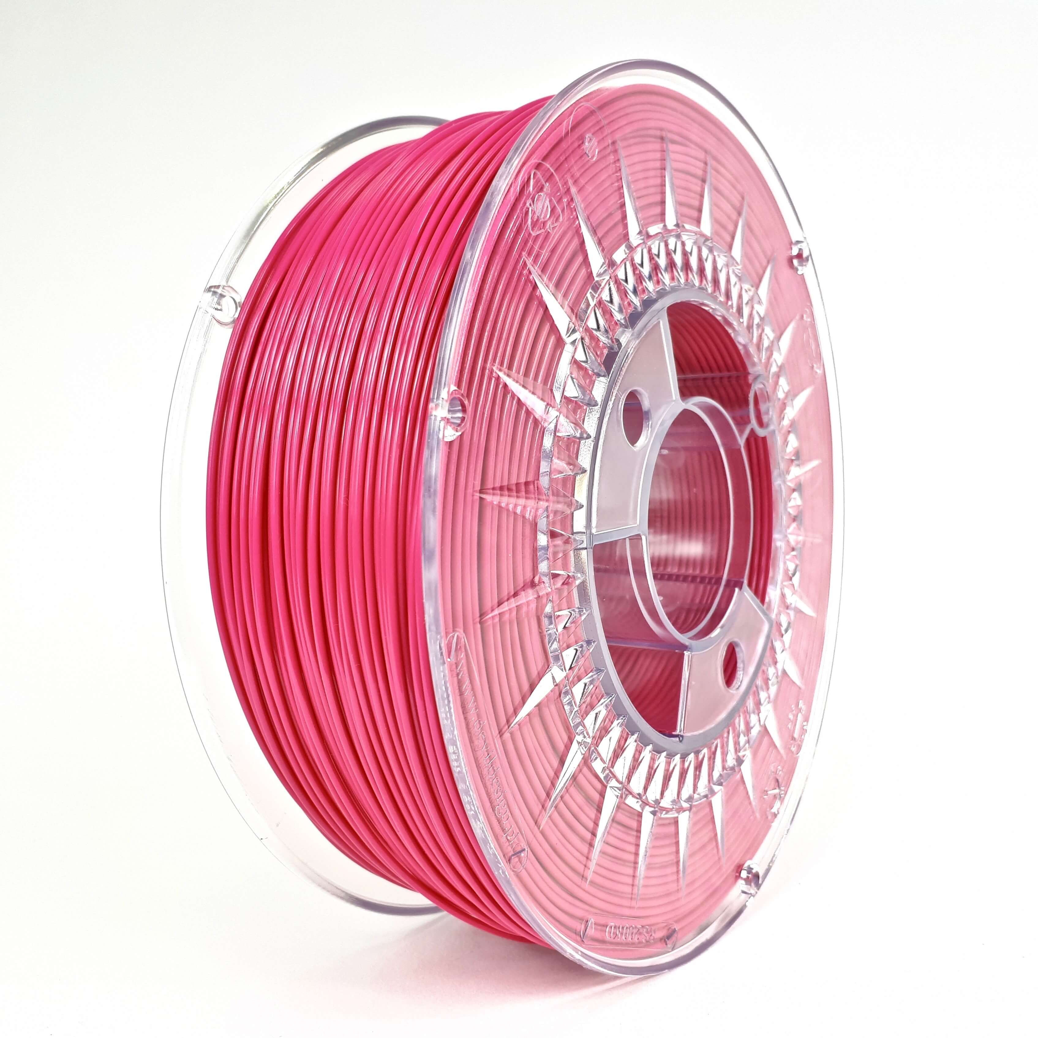 Filament DEVIL DESIGN / PLA / BRIGHT PINK / 1,75 mm / 1 kg.