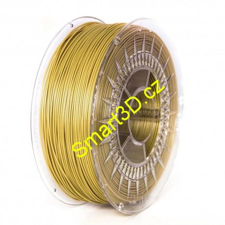 Filament DEVIL DESIGN / PLA / GOLD / 1,75 mm / 1 kg.