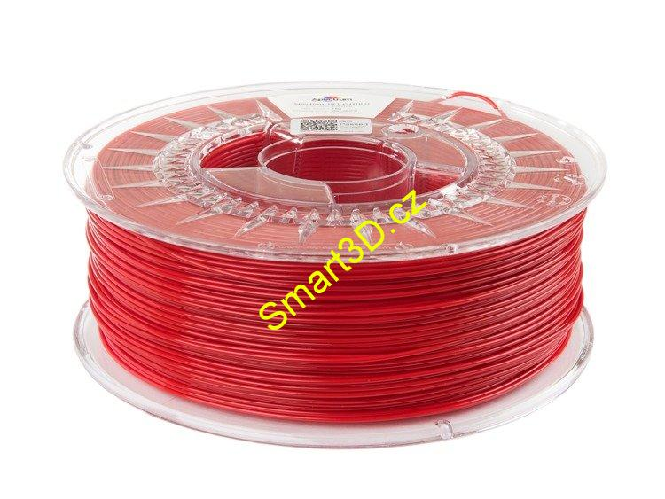 "Filament SPECTRUM / PETG TECH / HT100 ČERVENÁ ""TRAFFIC"" / 1,75 mm / 1 kg"
