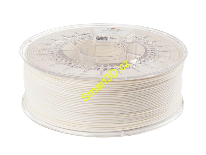 "Filament SPECTRUM / ABS SMART / BÍLÁ ""Polar"" / 1,75 mm / 1 kg"