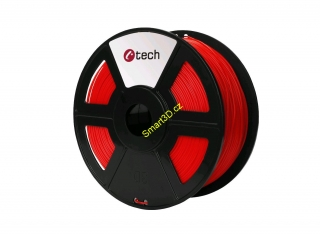 Filament C-TECH / PETG / ČERVENÁ / 1,75 mm / 1 kg