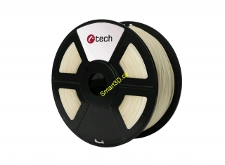 Filament C-TECH / PETG / TRANSPARENTNÍ / 1,75 mm / 1 kg