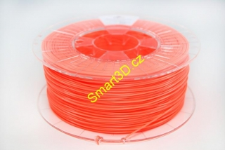 Filament SPECTRUM / PLA / FLUORESCENT ORANGE / 2,85 mm / 0,85 kg