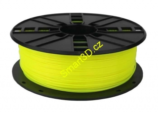 Filament Gembird / PLA / Fluorescent Yellow / 1,75 mm / 1 kg.