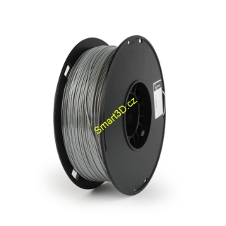 Filament Gembird / POLYMER GLOSSY / Silk Gray / 1,75 mm / 1 kg.