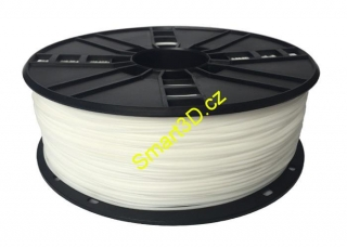 Filament Gembird / TPE FLEX / White / 1,75 mm / 1 kg.