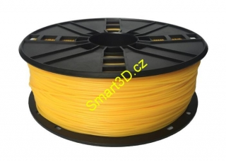 Filament Gembird / TPE FLEX / Yellow / 1,75 mm / 1 kg.