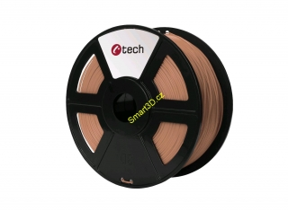 Filament C-TECH / PLA / MĚDĚNÁ / 1,75 mm / 1 kg