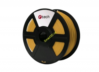 Filament C-TECH / PLA / ZLATÁ / 1,75 mm / 1 kg