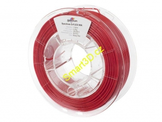 "Filament SPECTRUM / S-FLEX 90A / ČERVENÁ ""BLOODY"" / 1,75 mm / 0,25 kg"