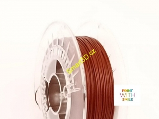 Filament PRINT WITH SMILE / PLA WOOD / MAHAGON / 1,75 mm / 450 g.