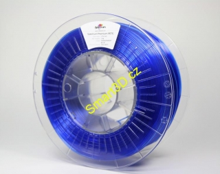 Filament SPECTRUM / PETG / TRANSPARENT BLUE / 1,75 mm / 1 kg