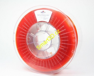 Filament SPECTRUM / PETG / TRANSPARENT ORANGE / 1,75 mm / 1 kg