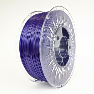 Filament DEVIL DESIGN / PETG / GALAXY VIOLET / 1,75 mm / 1 kg.