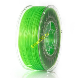 Filament DEVIL DESIGN / ABST / BRIGHT GREEN TRANSPARENT / 1,75 mm / 1 kg.